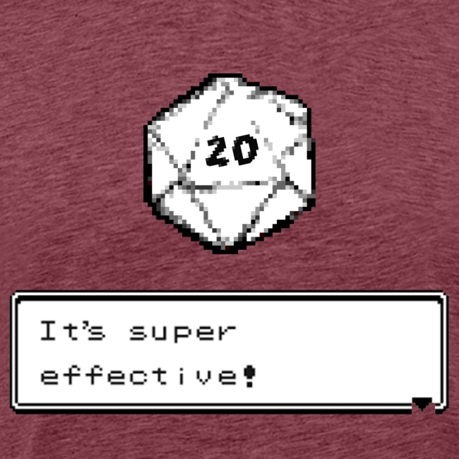 Kriittinen osuma d20 Super Effective! - D & D Dnd