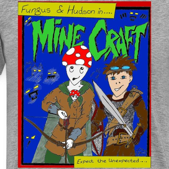 Fungus and Hudson t shirt design