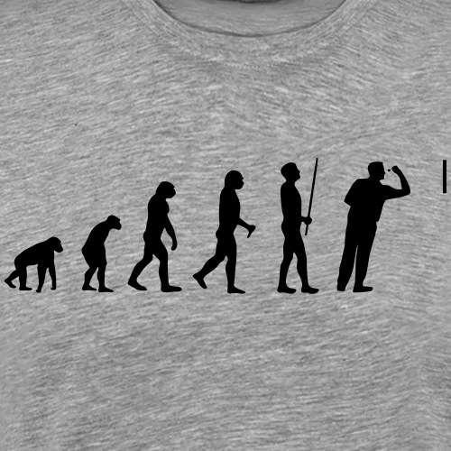 Evolution Darts - Männer Premium T-Shirt