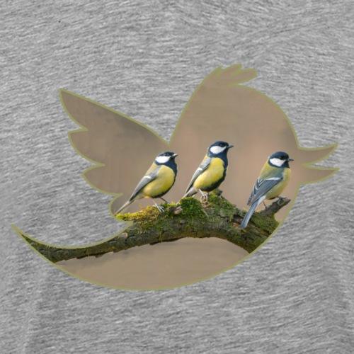 Mésanges - T-shirt Premium Homme