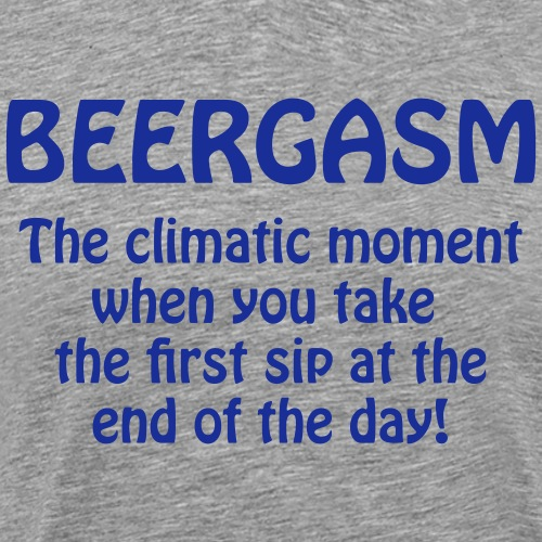 Beergasm - All about Beer - Männer Premium T-Shirt
