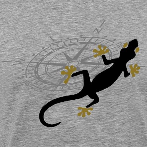 Gecko - Männer Premium T-Shirt