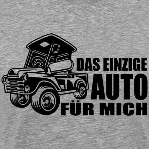 Golfauto - Männer Premium T-Shirt