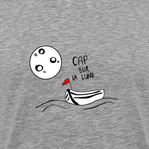 Cap sur la lune - T-shirt Premium Homme