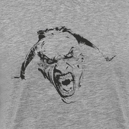Percht Krampus Teufel Shirt Geschenk - Männer Premium T-Shirt