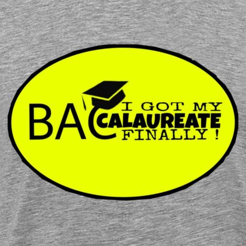 Baccalaureate Design - T-shirt Premium Homme
