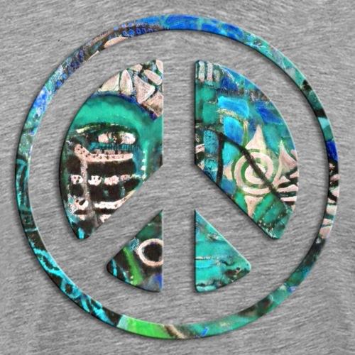 SH Masquerade Peace türkis - Männer Premium T-Shirt