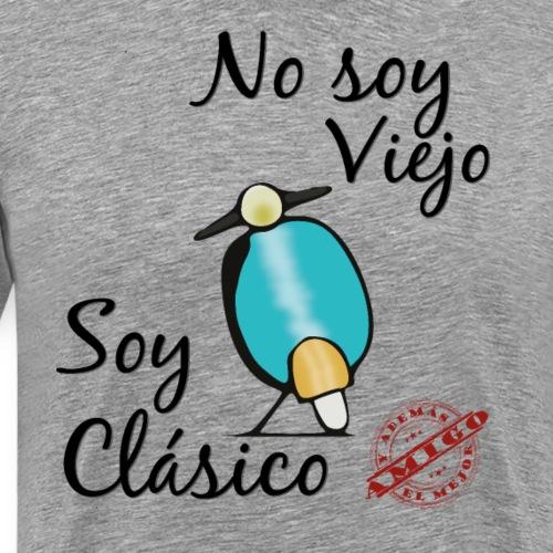 Moto Clasica y Mejor Amigo - Camiseta premium hombre