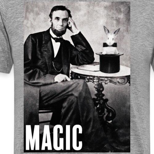 Abraham Lincoln et son lapinou - T-shirt Premium Homme