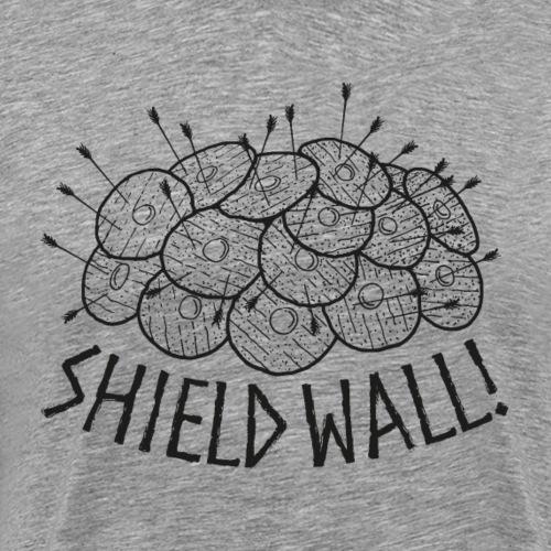 SHIELD WALL! - Men's Premium T-Shirt