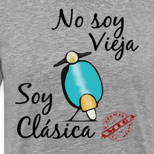 Moto Clásica y Mejor Amiga - Camiseta premium hombre