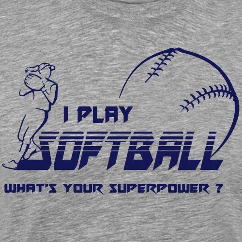 Softball MSG - T-shirt Premium Homme