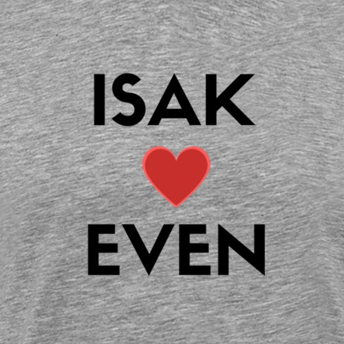 SKAM ISAK + EVEN - Premium T-skjorte for menn