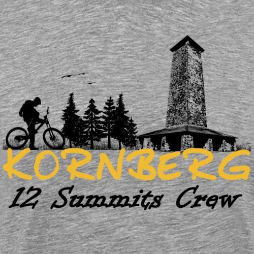 Kornberg ein Gipfel der 12 im Fichtelgebirge - Männer Premium T-Shirt