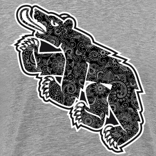 Berncity Bear 03 - Männer Premium T-Shirt