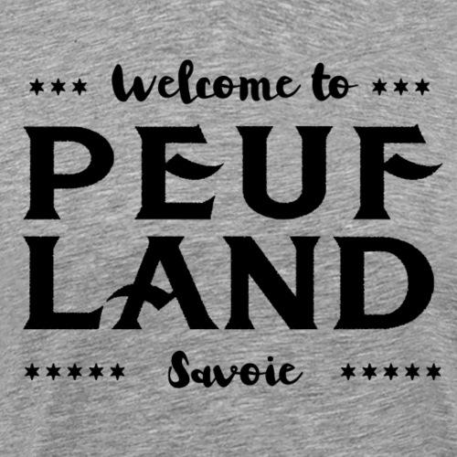 Peuf Land 73 - Savoie - Black - T-shirt Premium Homme