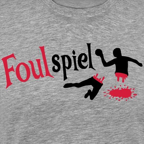 Handball Foulspiel - Männer Premium T-Shirt