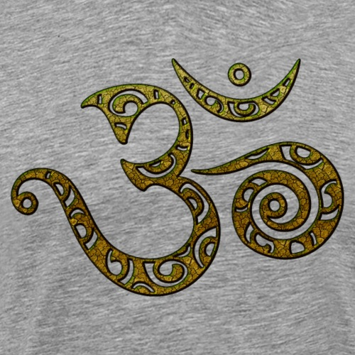 OM, AUM, BUDDHISM, SPIRITUALITY, MANTRA, YOGA, ZEN - Männer Premium T-Shirt