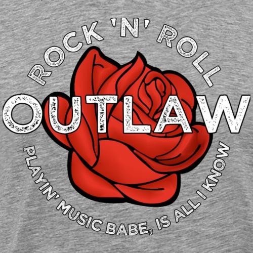 Rock 'n' Roll Outlaw - Mannen Premium T-shirt
