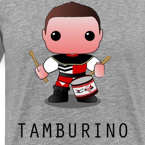 tamburino calvi dell'umbria - Maglietta Premium da uomo