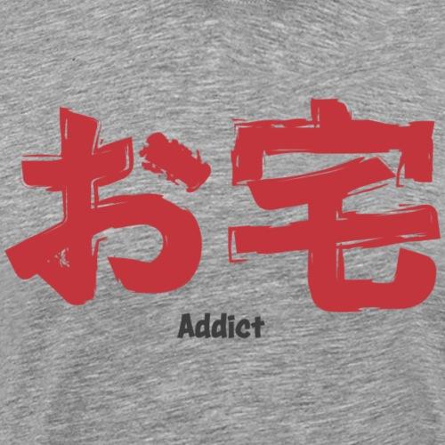 Otaku addict Manga - T-shirt Premium Homme