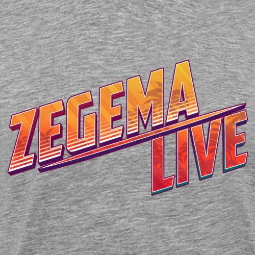 Logo Zegema Live - T-shirt Premium Homme