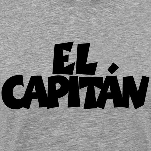 El Capitán Kapitän Segeln Segler Segel - Männer Premium T-Shirt