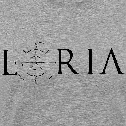 Loria Logo - Männer Premium T-Shirt