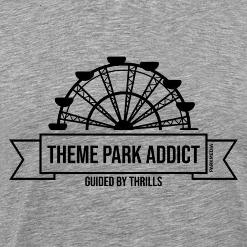 Insigne de parc à thème Addict - T-shirt Premium Homme