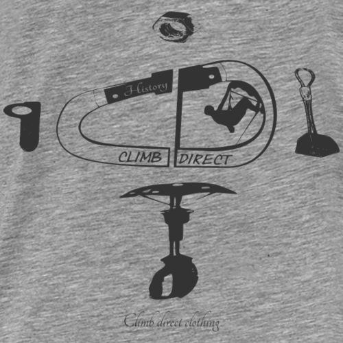 History Grey - Men's Premium T-Shirt