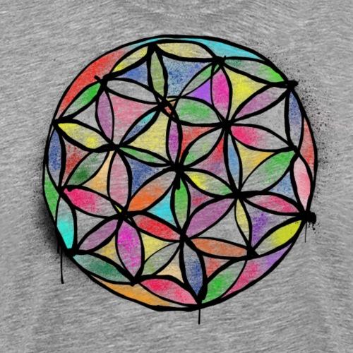 lifeflower By TheRawburt - Premium-T-shirt herr