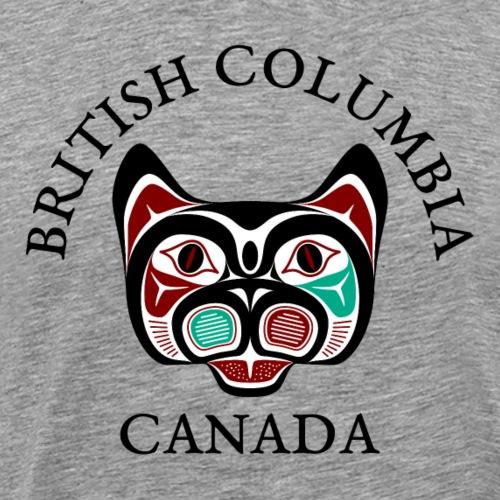 British Columbia Haida Kitty - Men's Premium T-Shirt