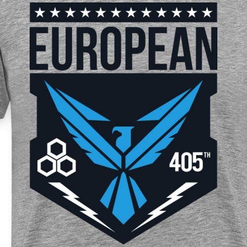 european 405th logo - Mannen Premium T-shirt