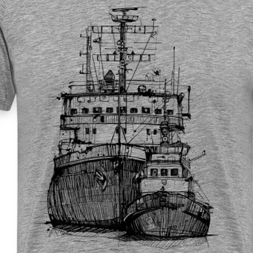 Eisbrecher & Schlepper - Männer Premium T-Shirt