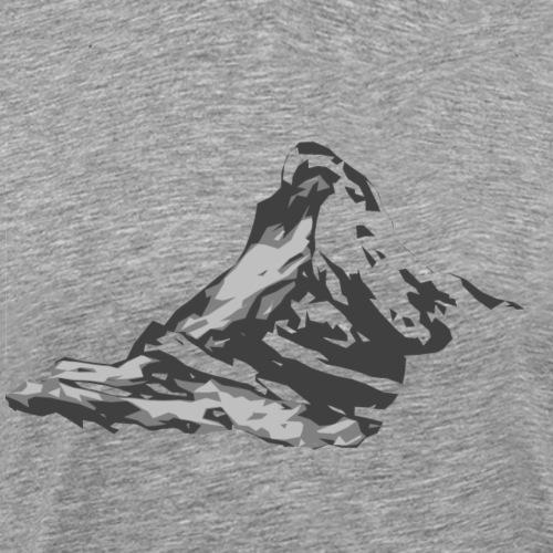Matterhorn - Cervin Suisse - Männer Premium T-Shirt