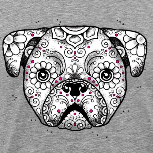 Welpe Sugar Skull - Männer Premium T-Shirt