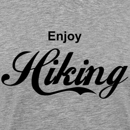 enjoy hiking - Männer Premium T-Shirt