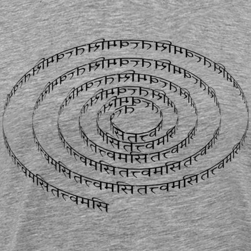 spiral tattvamasi
