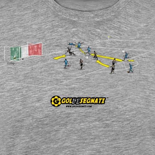 NAP-JUV 2-0 | 2012 Il Gol Storico della finale - Maglietta Premium da uomo