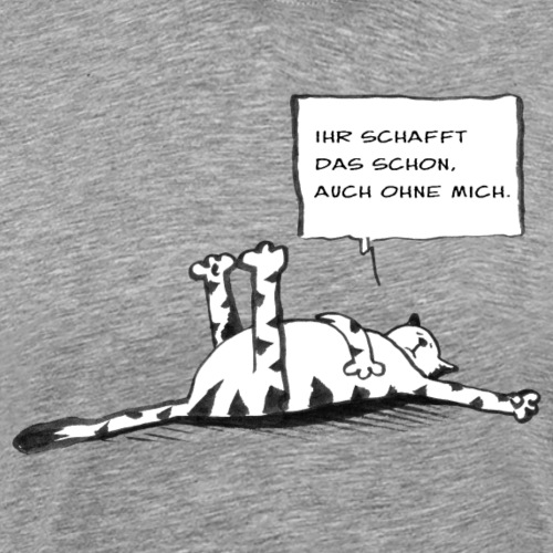 Katz - Männer Premium T-Shirt