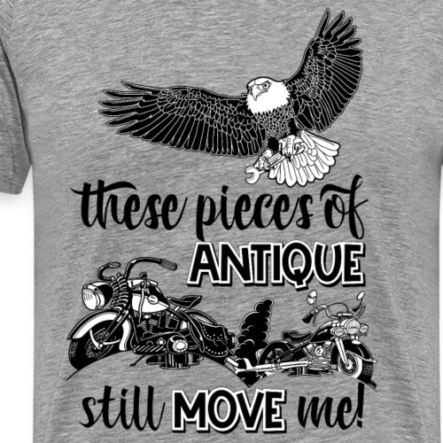 These pieces of antique still move me - Mannen Premium T-shirt