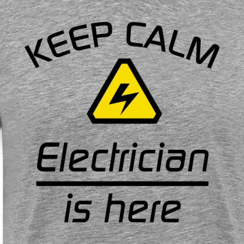 Keep Calm - Elektriker - Männer Premium T-Shirt