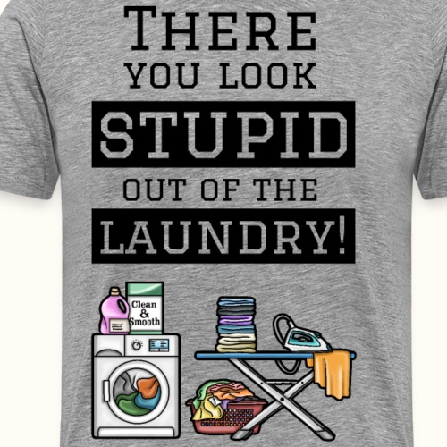 Laundry - schwarz - Männer Premium T-Shirt
