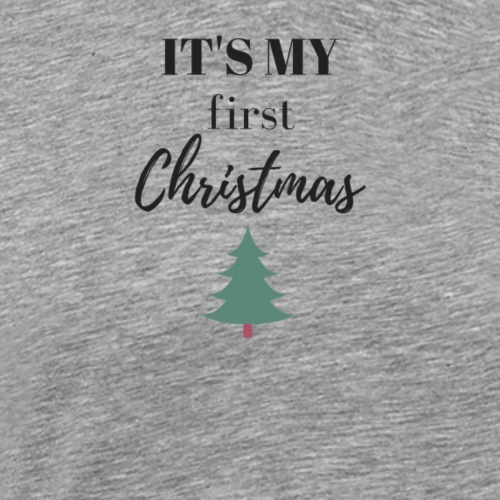 It`s my first Christmas Weihnachtsbaum - Männer Premium T-Shirt