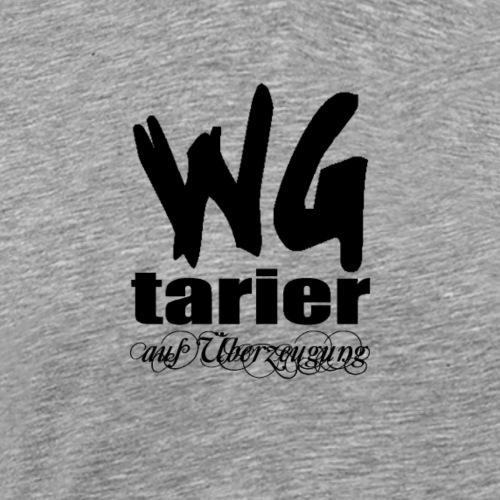 wgtarier black - Männer Premium T-Shirt