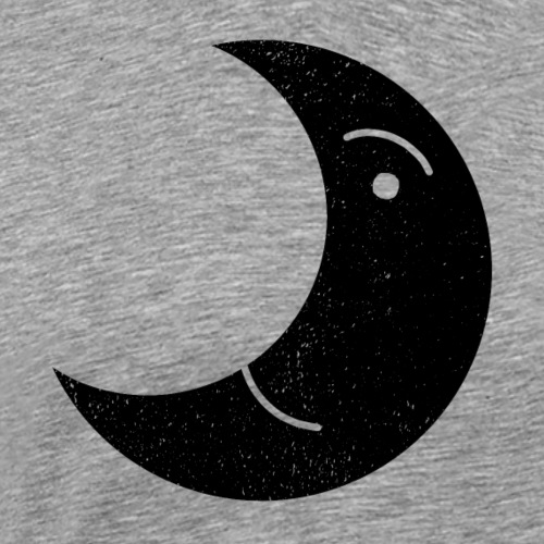 BLACK MOON SMILE - Männer Premium T-Shirt