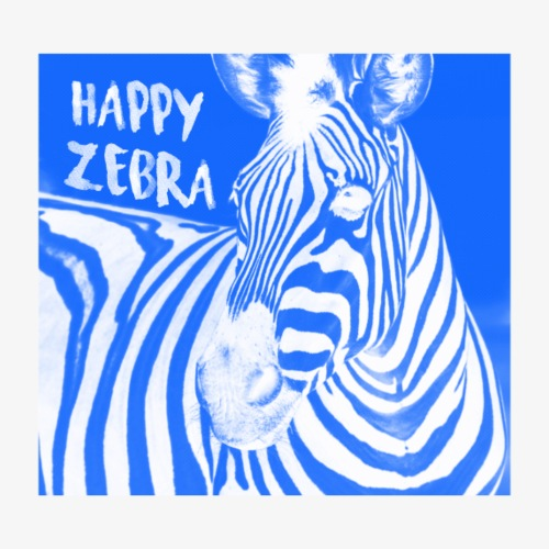 happy zebra - T-shirt Premium Homme