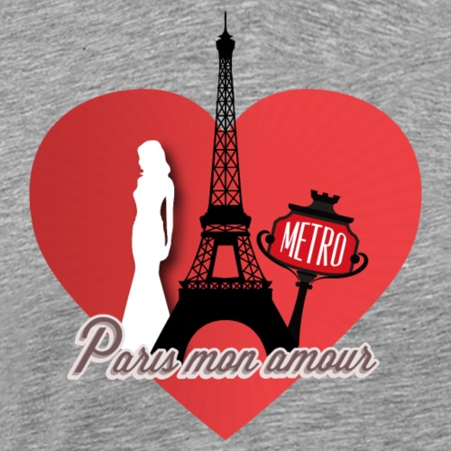 Paris mon amour - T-shirt Premium Homme