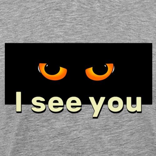 I see you - Koszulka męska Premium