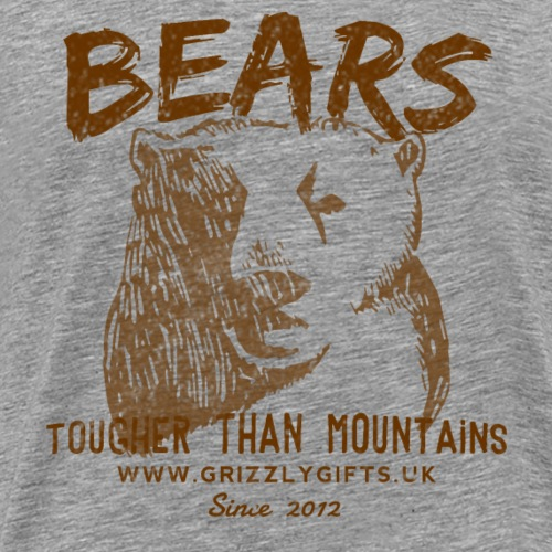 Mountain Bear Dark tank - Men's Premium T-Shirt
